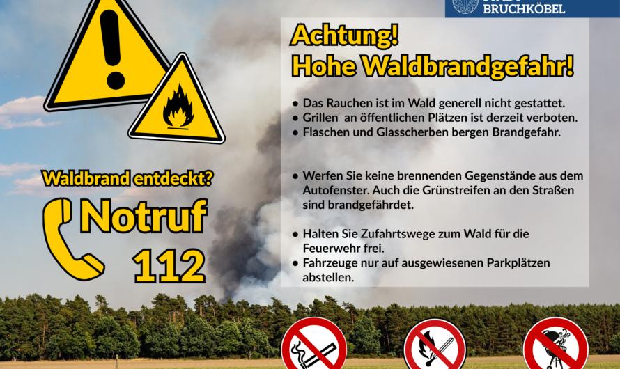 23.04.2020 Waldbrandgefahr