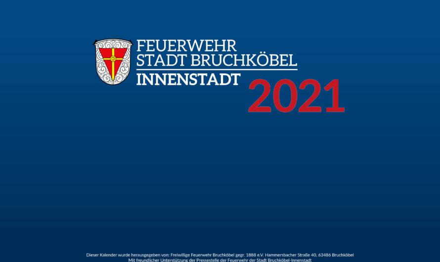 Wandkalender für 2021 – Unterstütze Feuerwehr & Verein