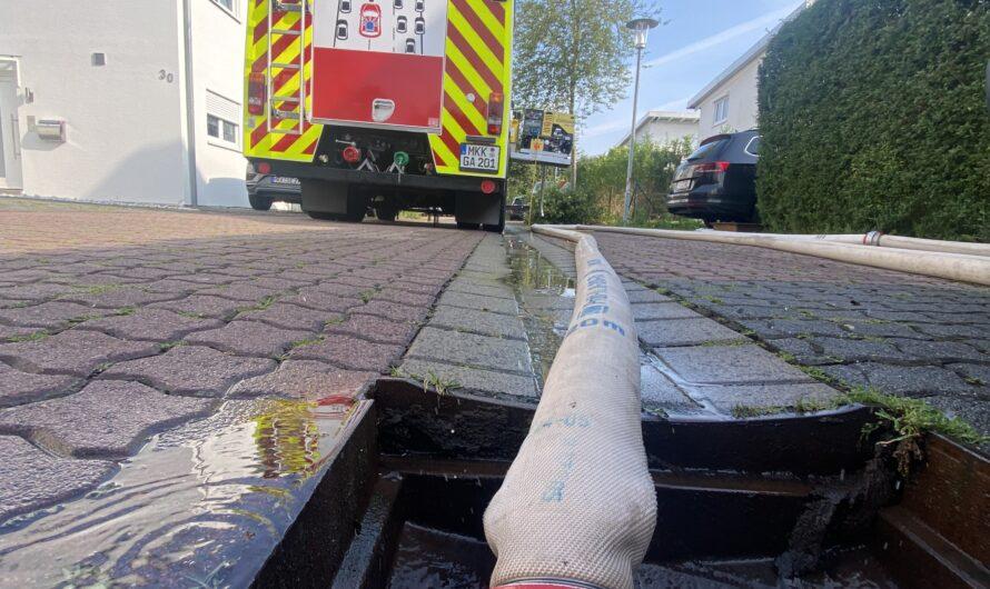 11.07.2021 Wasser in Gebäude